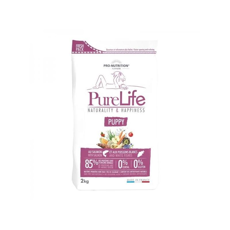 Pure Life kuivtoit kutsikale Lõhe & Valge Kalaga 12KG