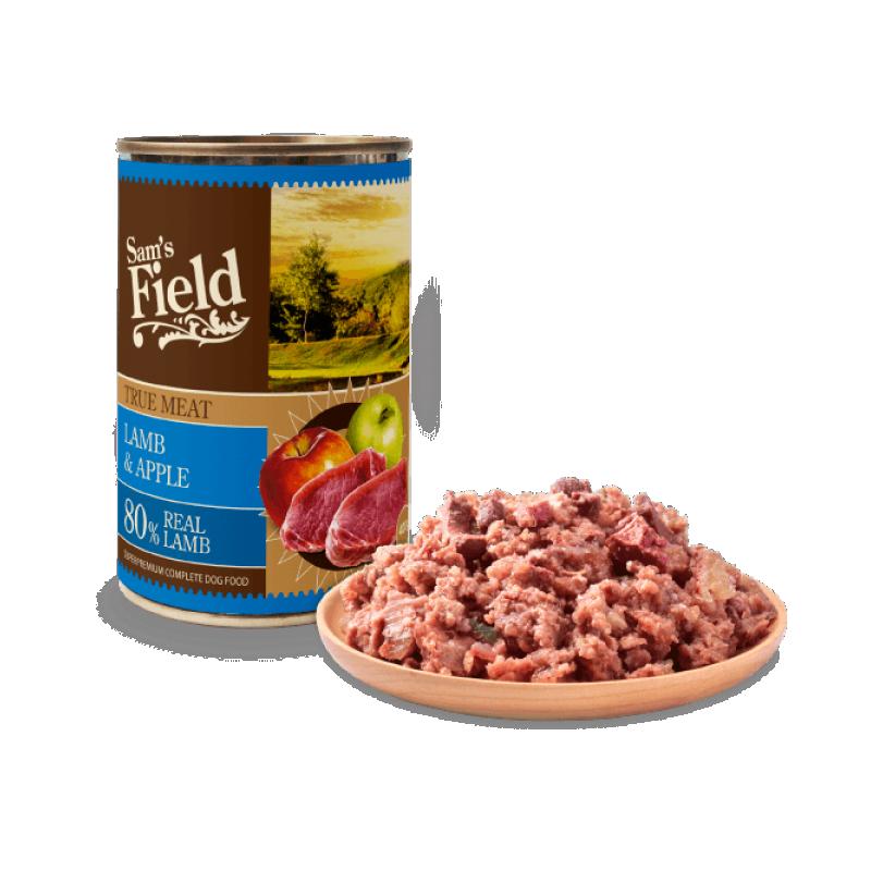 Sam's Field konserv Lamba&Õunaga 400g