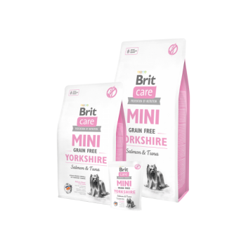 Brit Care MINI Yorkshire terrierile Lõhe&tuunikalaga 2kg