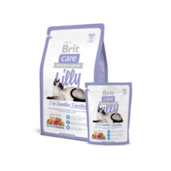 Brit Care Cat Lilly I`ve Sens.Digest.0,4