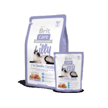 """BC kassi kuivtoit """"Lilly"""" tundlikule täiskasvanud kassile lambaga 2kg"""