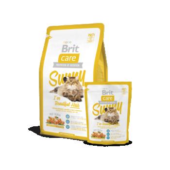 """BC kassi kuivtoit """"Sunny"""" pikakarvalisele kassile lõhega 0,4kg"""
