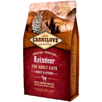 Carni Love kuivtoit täiskasvanud kassile põhjapõdralihaga 2 kg