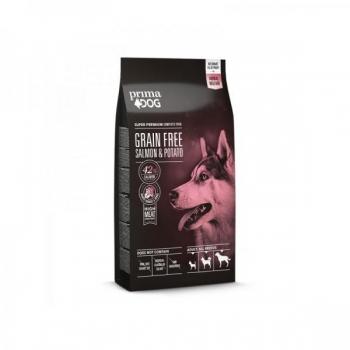 PrimaDog koera teraviljavaba täistoit Lõhe&kartuliga 10kg