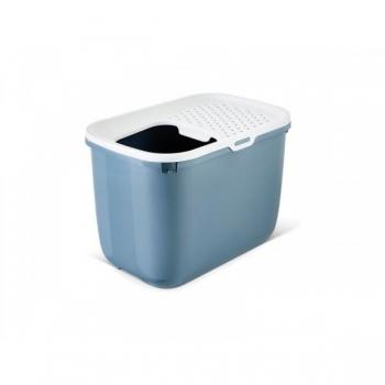 Savic kassi liivakast Hop in valge/sinakashall 58x39x39cm