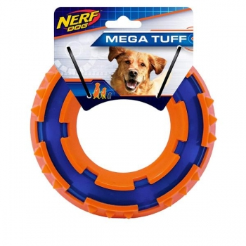 Koera mänguasi NERF Two-Tone TPR Spike Ring