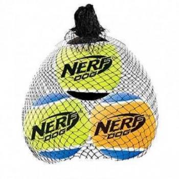 Koera mänguasi NERF Squeak Balls M 3tk