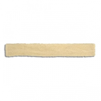 HANSBO SPORT Sadulavöö pehmendus 60 cm must/beež