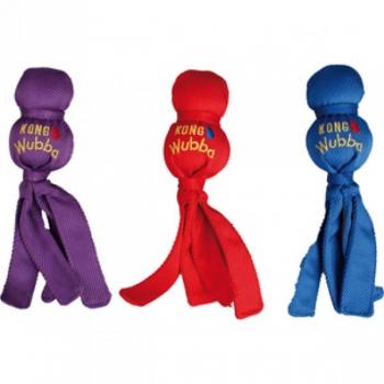 Kong koera mänguasi Wubba tekstiil interaktiivne viskemänguasi XL