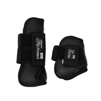 Luxury tendon boots set Black Full