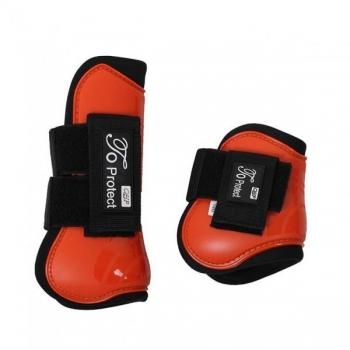 Luxury tendon boots set Orange Pony
