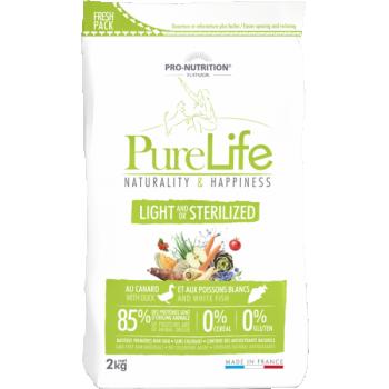Pure Life kuivtoit steriliseeritud koerale Pardiliha & Valge Kalaga 12kg