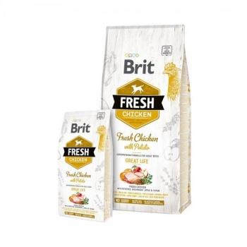 "Brit Fresh ""Adult"" kanaliha&kartuliga 2,5kg"