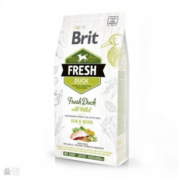 "Brit FRESH ""RUN & WORK"" Pardiliha&hirsiga 2,5kg"