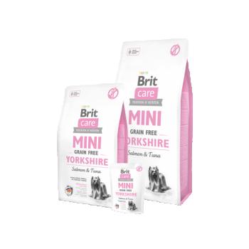 Brit Care MINI Yorkshire terrierile Lõhe&tuunikalaga 7kg
