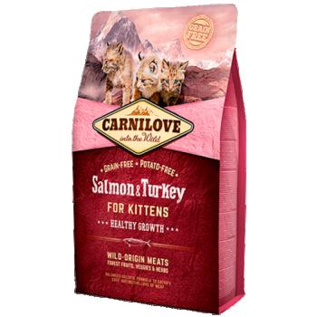CL kassi kuivtoit lõhe&kalkun kassipojale 6kg