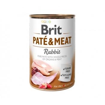 "Brit koerakonserv ""Pate&Meat"" küülikuga 400g"