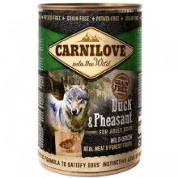 Carni Love Duck & Pheasant kons 400g