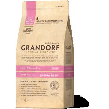 GRANDORF täistoit kassipojale Lambaliha & pruuni riisiga 400g