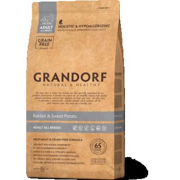 Grandorf täiskasvanud koera täistoit küülikuliha & bataadiga 3kg