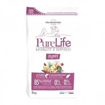 PureLife kutsika kuivtoit lõhe & valge kalaga 2kg