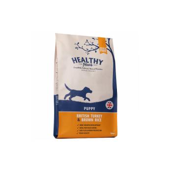 """Healthy Paws kutsikale """"Briti kalkuniliha & pruuni riisiga"""" 12kg"""