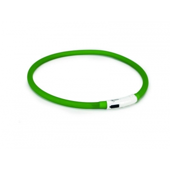 Beeztees kaelarihm Dogini LED-usb roheline