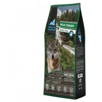 "Wolfs mountain ""wild forest"" uluki ja lambalihaga 2,5 kg"