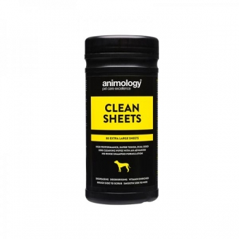 ANIMOLOGY PUHASTUSLAPID CLEAN SHEETS N80