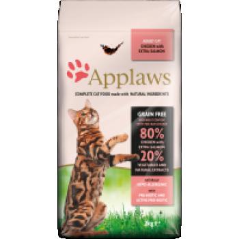 Applaws kassi täissööt kana/lõhe 0,4kg