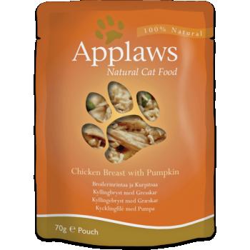 Applaws kassi einekotike kana/kõrvits 1x70g
