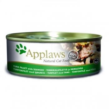 Applaws kassi konserv tuunikala/vetikas 156g N1