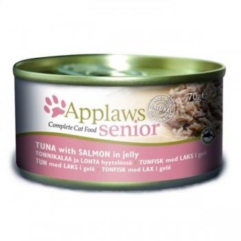Applaws kassi konserv zelees seenior tuunikala/lõhe 70g N1