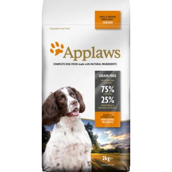 Applaws koera täissööt väike/keskm.tõug kana 2kg