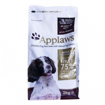 Applaws koera täissööt väike/keskm.tõug kana/lammas 2kg