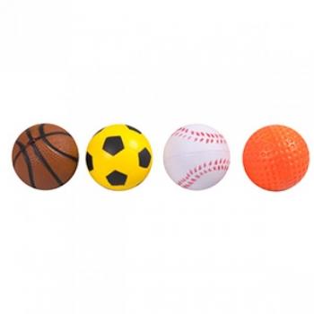 Kassi mänguasi sportlikud pallid 4 tükki