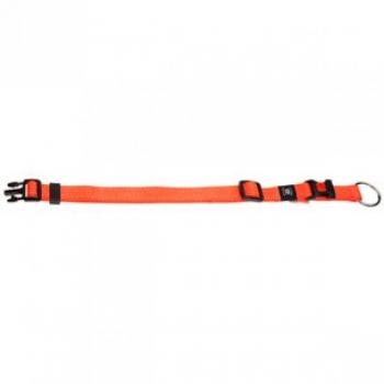 Koera kaelarihm oranž 45-65cm 25mm