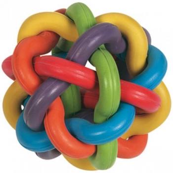 Koera mänguasi värviline pall 10cm