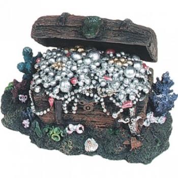 Akvaariumi dekoratsioon aardekast avanev- õhupumba otsaga