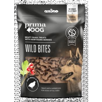 PrimaDog Wild Vutiliha viirpuumarjadega 150g
