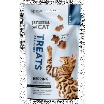 PrimaCat Crunchy heeringas rosmariiniga 40g