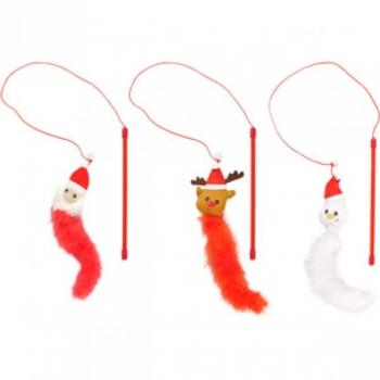 Mänguasi jõulud CAT DANGLER DONI lumememm; jõuluvana; põhjapõder punane-valge