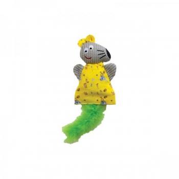 Plüüsist mänguasi sulega - hiir 24CM x 10CM