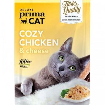PrimaCat Cozy Chicken, kana juustuga tarrendis 50g