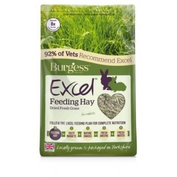 Burgess Excel hein Dried Fresh Grass 1kg