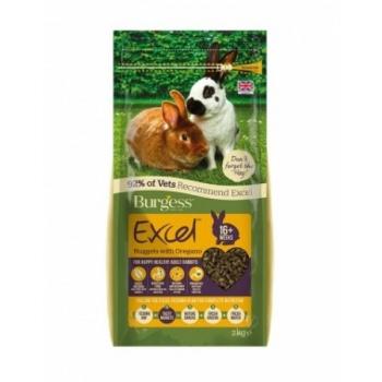 Burges Excel küüliku täissööt Oregano 2kg