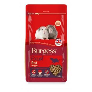 Burgess Excel roti täissööt 1,5kg