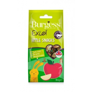 Burgess Excel väikelooma maius Apple Snacks 80g