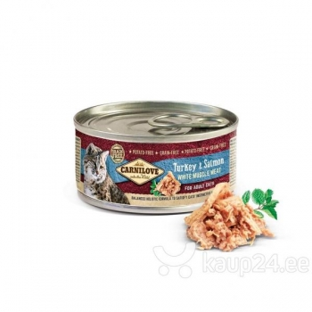 Carni Love cat Turkey&Salmon kons100g