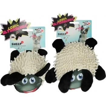 Comic Ultrasonic koera mänguasi lammas väike